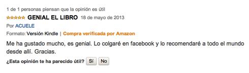 Opinión ACUELE en Amazon.es