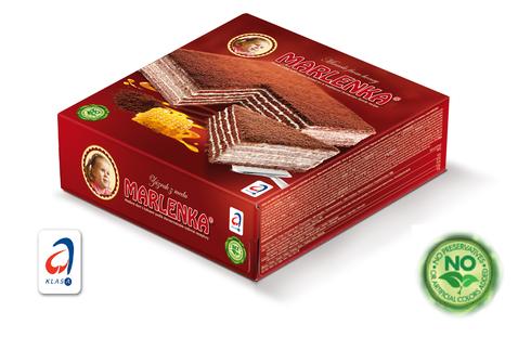Bild: Marlenka Honigtorte mit Kakao