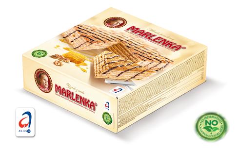 Bild: Marlenka Honigtorte mit Nüssen