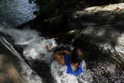 Wasserfall Freeride