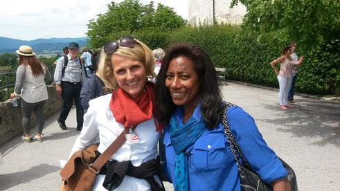visita guiada em Salzburgo com Globo Repórter Glória Maria e guía Liza Klinger