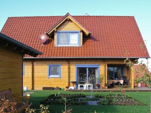 Blockhaus in Perfektion - Wohnblockhaus bei Fulda - © Blockhaus Kuusamo