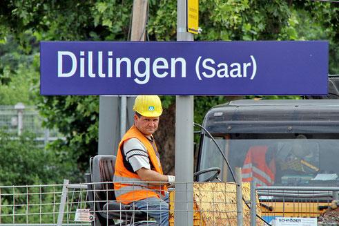 Baustelle Dillingen