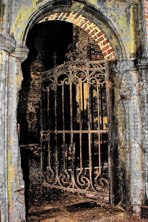 Abtei Aulne Klosterruine