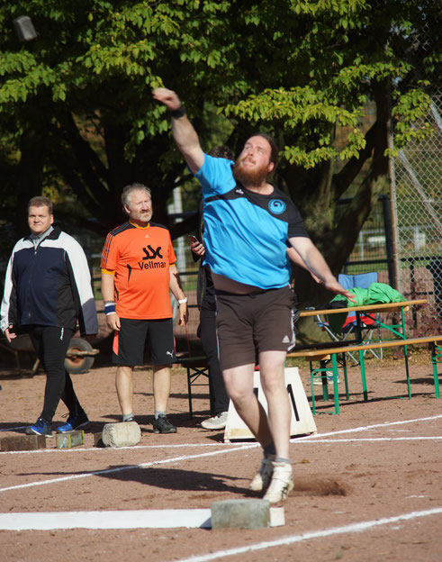 Ruben Loew wurde mit 83,56 m Vizemeister (EM und DM)!