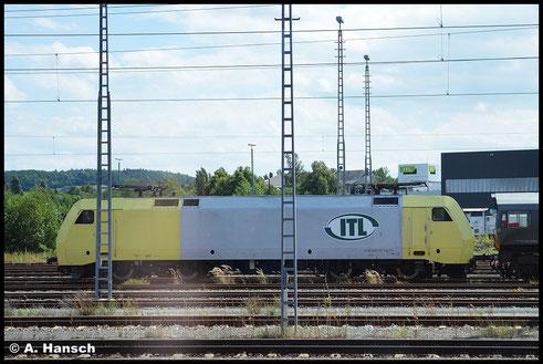 Am 20. Juli 2015 entstand in Pirna Hbf. aus dem Zug heraus dieser Schnappschuss von 152 197-0