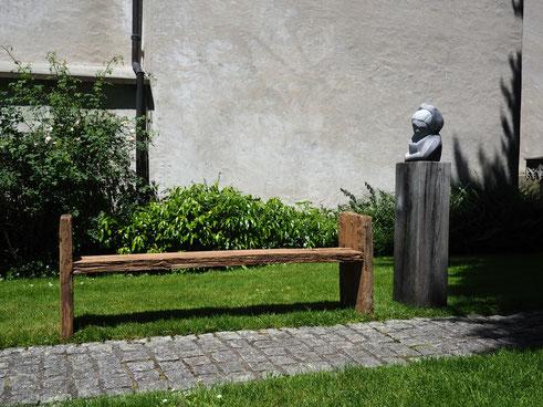 Anna Erdin/ Ausstellung/ Bischofszell/ Bildhauer Mannenbach/ Bildhauer Thurgau/ Steinskulpturen/