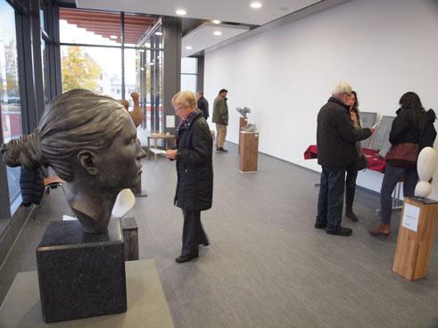 Skulpturen Ausstellung/ Steinskulpturen/ Andreas Lindegger/ Anna Erdin