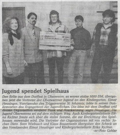 01.12.1993 Schweinfurter Tagblatt