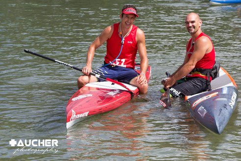 Rekordkarriere im Stand Up Paddling - 7 Monate bis ins Nationalteam