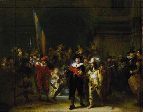 """Рембрандт - """"Ночно дозор"""" - интересные факты"""