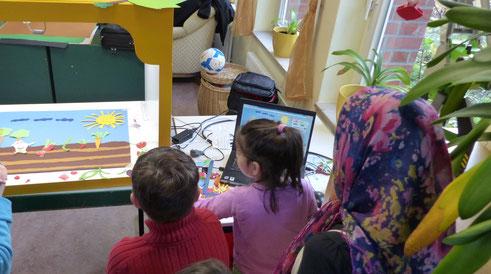 Trickfilmprojekt mit Flüchtlingen