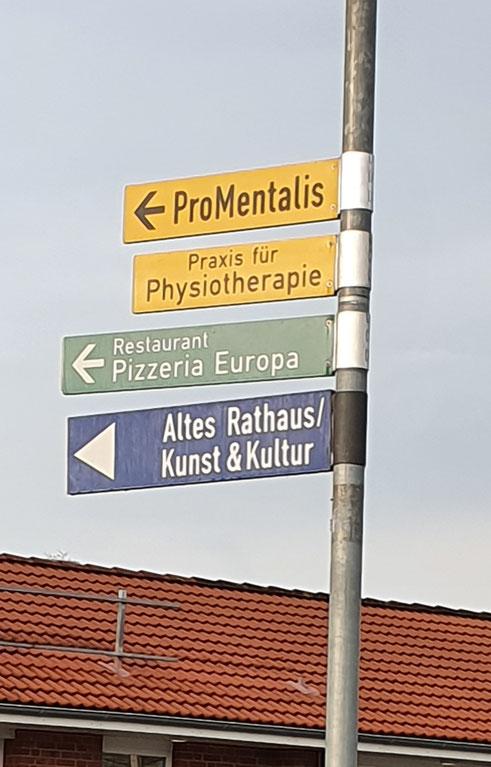ProMentalis zu finden für Eiderstedt, Dithmarschen und den Tourismus