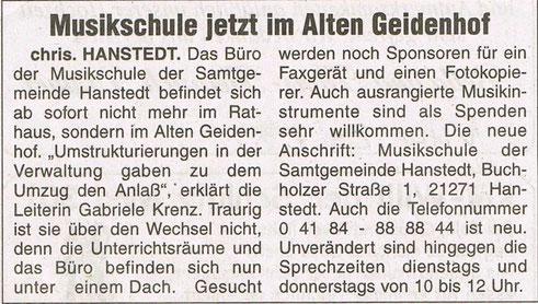Nordheide Wochenblatt 24.08.2002
