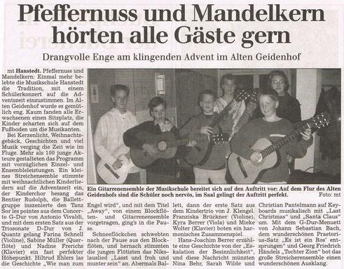 Winsener Anzeiger 03.12.2002