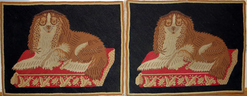 King Charles Spaniel needlepoint tapestry