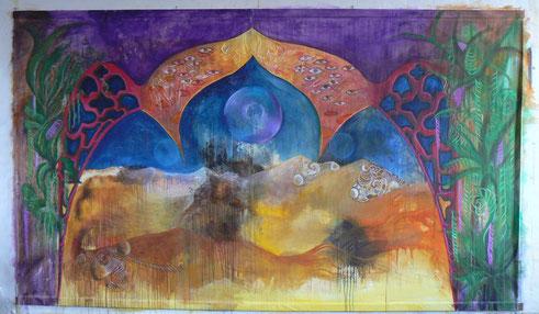 Peinture central (présentation inachevée)