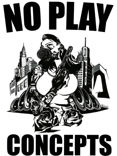 T-SHIRTS Design for NO PLAY CONCEPTS [Jackson Turner]