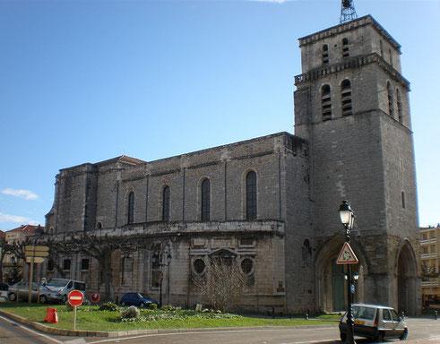 Cathédrale Saint-Jean-Baptiste d'Alès, classée Monument historique (source: VPE)