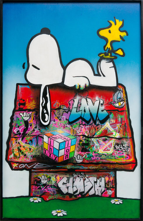 xxxhibition - Snoopy in the hood