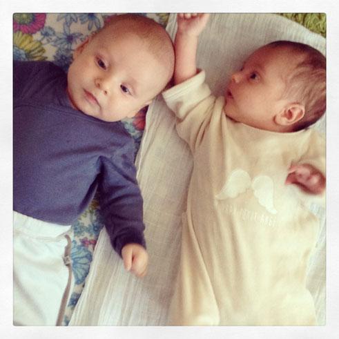 Anton et Victor, deux mois de différence (mais 5 semaines entre les 2 naissances)