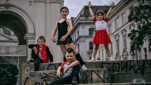 Tanzen für Kinder ab 2 Jahren in Wien