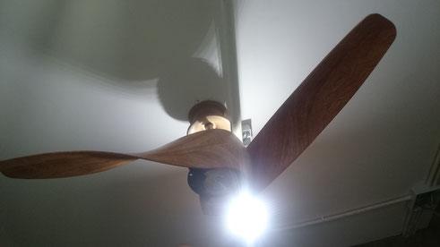 風扇燈安裝 Ceiling fan installation