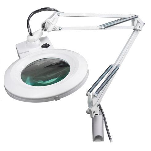 Lámpara con lupa y brazo ajustable 3358CC