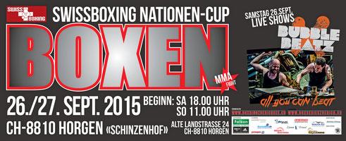 Veranstalter Box-Ring Zürichsee/Horgen mit IG Box Series Zurich