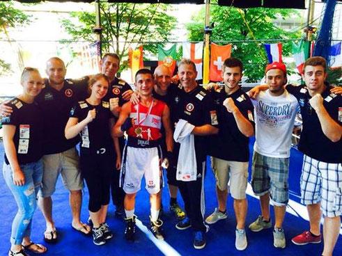 www.boxringzuerichsee.ch Boxstaffel & Fans