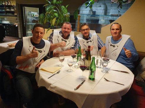 ZBV VR, v. links n. rechts; Timur Topcu, Tobi Kron, Urs Walder, Matthias Luchsinger