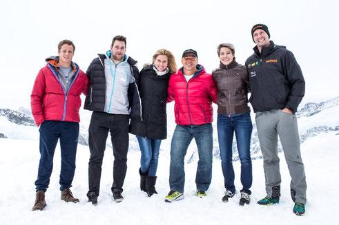 Nils,    Ruedi,   Monika,     Tinu,     Sonia, Kilian  vLnR.