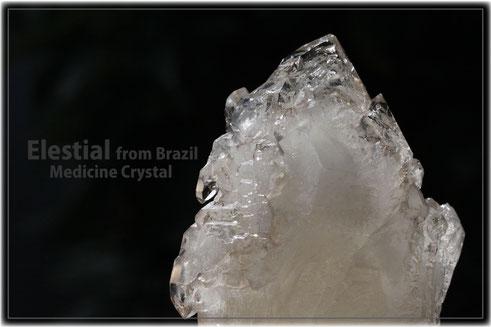 エレスチャル 原石 ブラジル産 写真