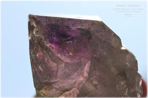 エレスチャル 原石 タンザニア産 写真