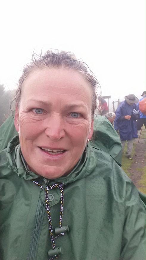 So fing alles an, der Marsch über die Pyrenäen, bei strömenden Regen und 6 Grad Kälte