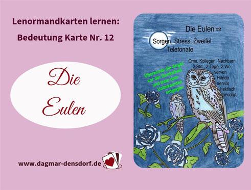 Lenormand Eulen Dagmar Densdorf