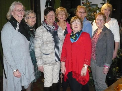 Vorstandsdamen der Ortsvereine des Kreises Pinneberg