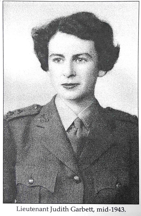 "Judith was an officer in the Royal Australian Army during WW11. Photo courtesy of her book ""Meher Baba's Love - My Story """