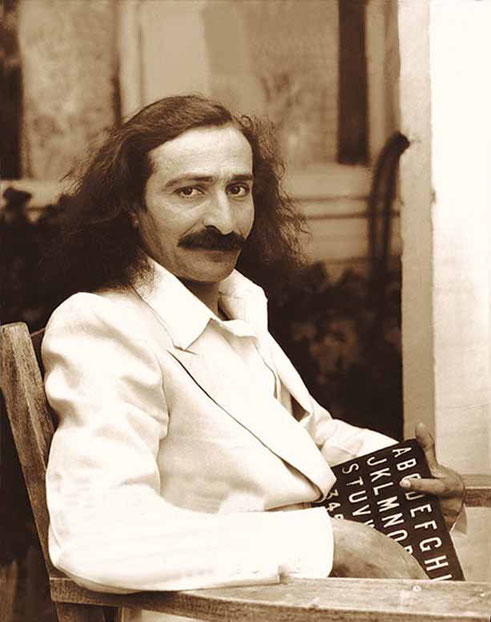 1932 ; Meher Baba at the Garden of Allah Hotel, Hollywood, CA.  ( ? confirmation sought )