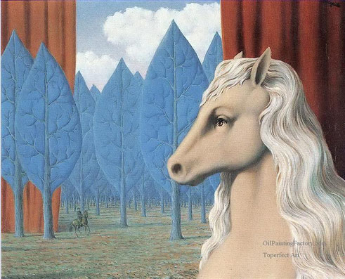 """René Magritte, """"Ragion pura"""" (1948)"""