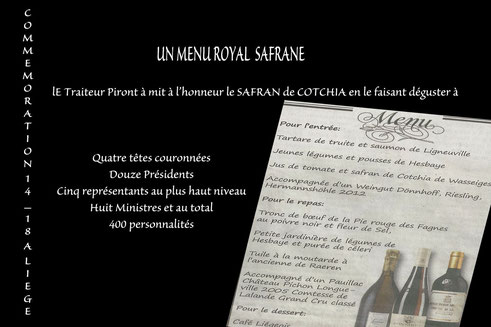 Menu Royal