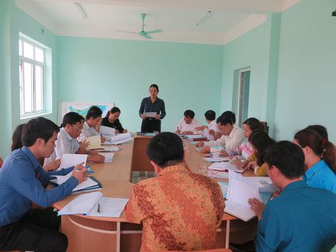Giám sát xay dựng trường chuẩn Phường Quảng Tiến Sầm Sơn