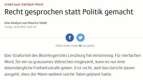 Screenshot Analyse zum Urteil im Vierfachmord Rupperswil von srf.ch