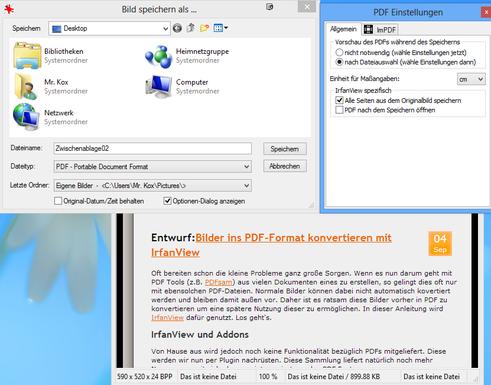 IrfanView-PDF-Speichern