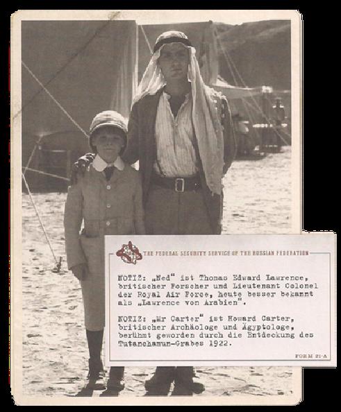 Ich und Ned Ägypten, Frühjahr 1908