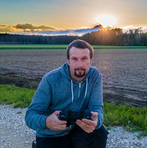 Frank Weber von GEO-Drohne