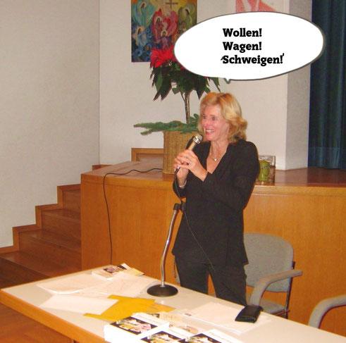 Geld anziehen Vortrag Irina Reylander