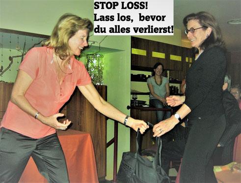 Stop Loss eine Kunst, Motivationsevent mit Irina Reylander