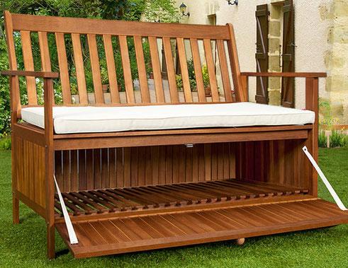 Panca da giardino benvenuti su sandro online shopping for Cassapanca da balcone
