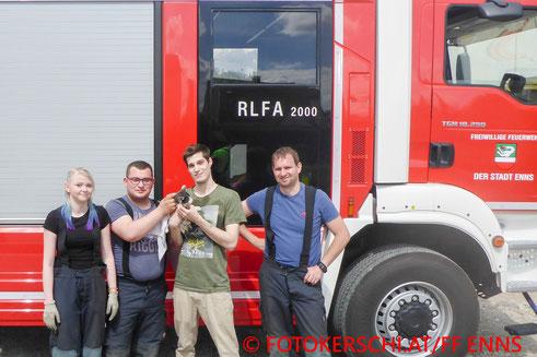 © FOTOKERSCHI.AT/Freiwillige Feuerwehr Enns